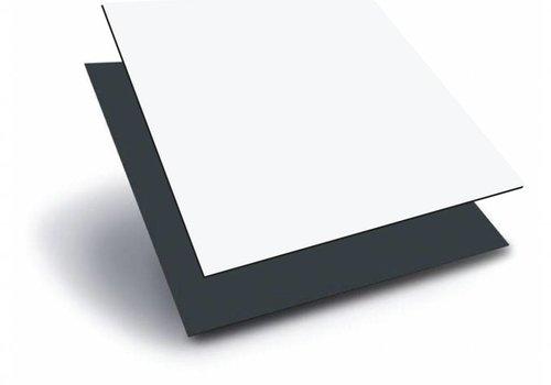 Obie HPL 1220 x 2440 x 3,0mm - Wit / Antraciet