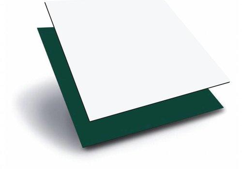 Obie HPL 1220 x 2440 x 3,0mm - Wit / Groen