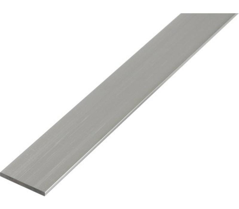 Aluminium 40 x 2,0 mm - Platstrip - 30 meter in 3000 mm