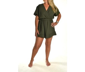 Playsuit Leger groen