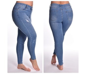 Damaged push- up jeans BY818/BY838