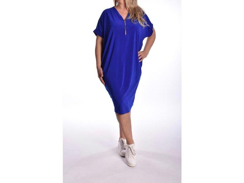 Jurk Ritz Uni Kobalt Blauw