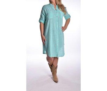 Overhemd jurk Mint
