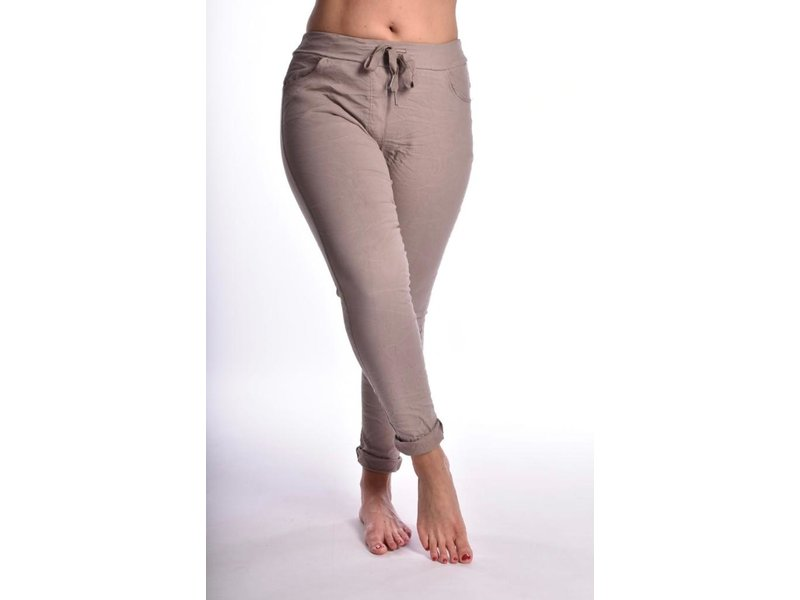 Broek make my day Taupe