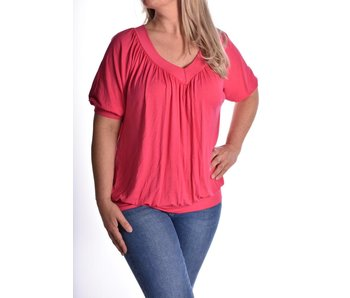 Top Perfect fit Donker roze