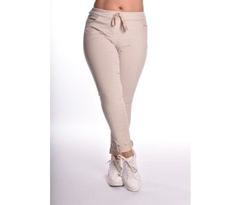 Broek make my day Basic 5CM+ - Beige