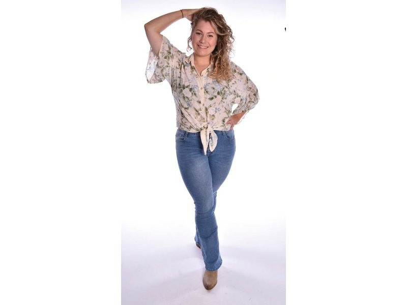 Flared jeans S5949