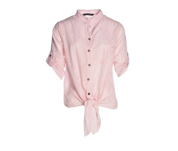 Blouse Broderie Roze