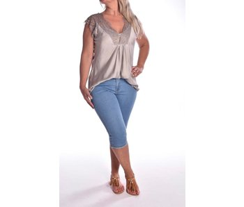 Top Wendy Deluxe - Taupe