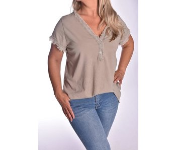 Top Stoer - Taupe