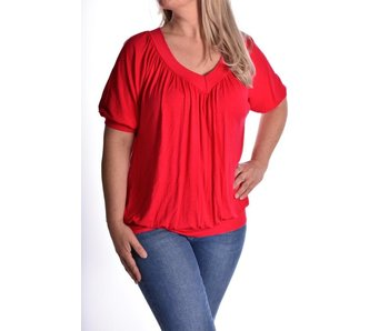 Top Perfect Fit  - Rood