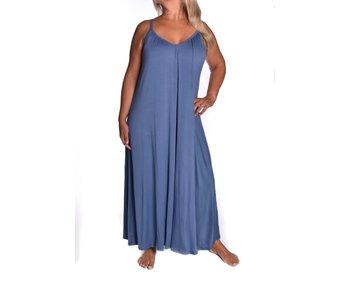 Jurk Hittegolf - Jeans blauw