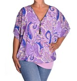 Voile top Mila - Lila