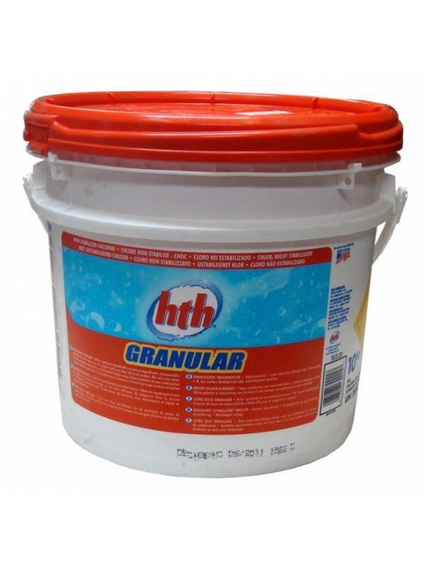 Hth Chloorgranulaat 10 Kg.Hth Chloorshock 10 Kg 65 Anorganisch Chloor Jozon