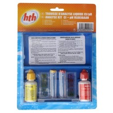 HTH Testset chloor en pH (vloeistof)