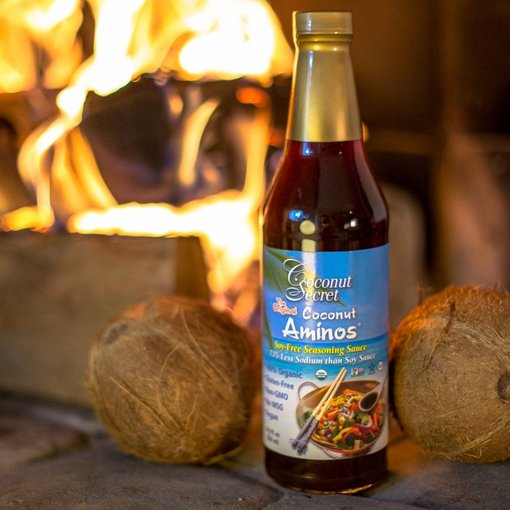 Coconut Secret Coconut Secret - Raw Coconut Aminos, soy-free seasoning sauce 500ml with Coconut Secret
