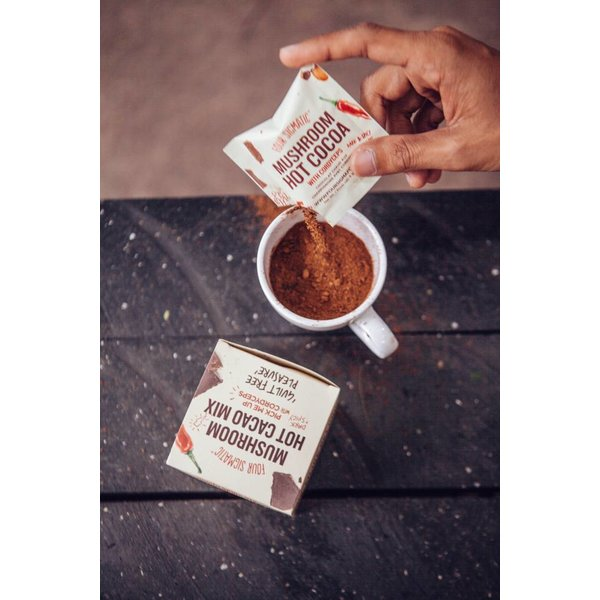 Mushroom Hot Cacao mit Cordyceps und Guarana - Four Sigmatic