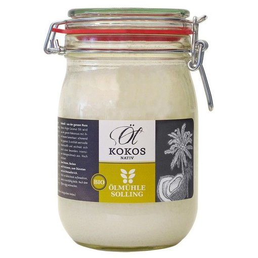 Ölmühle Solling Bio-Kokosöl nativ 1000 ml