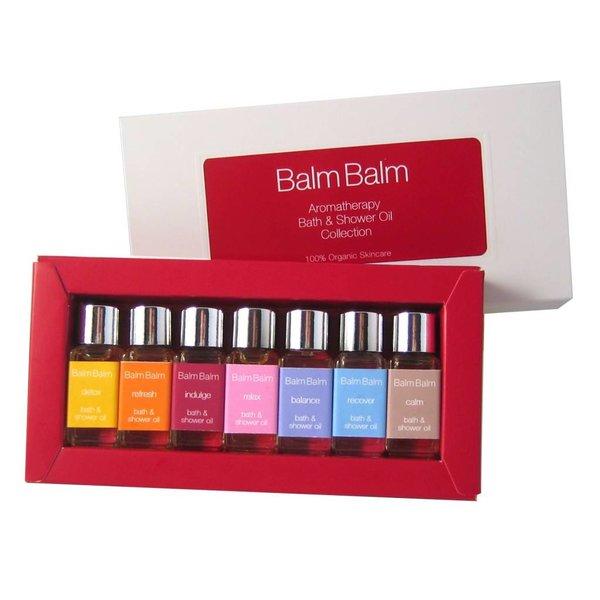 Balm Balm - 'BIJOU' Dusch- und Badeölkollektion, 7 x 5ml