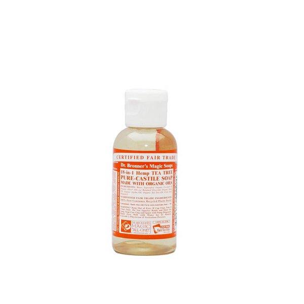 Dr. Bronners - Flüssigseife Teebaum, 59ml