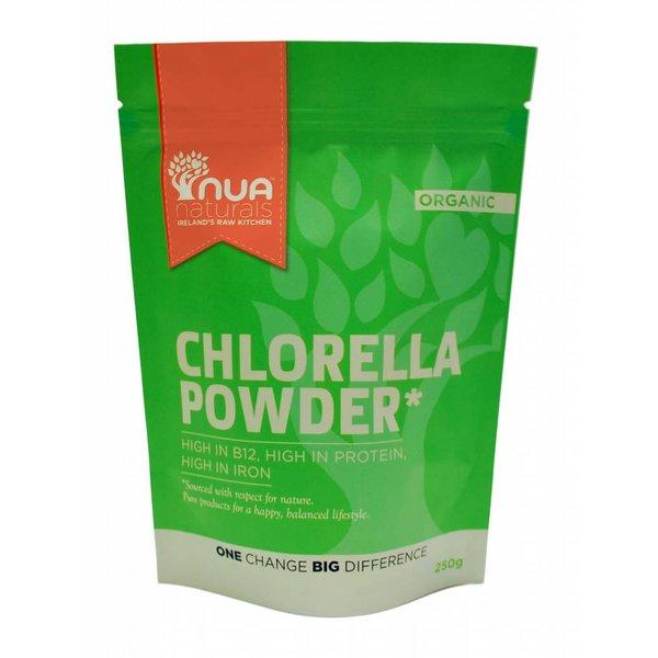 Nua Naturals - Chlorellapulver, 250g - MHD 1.5.18