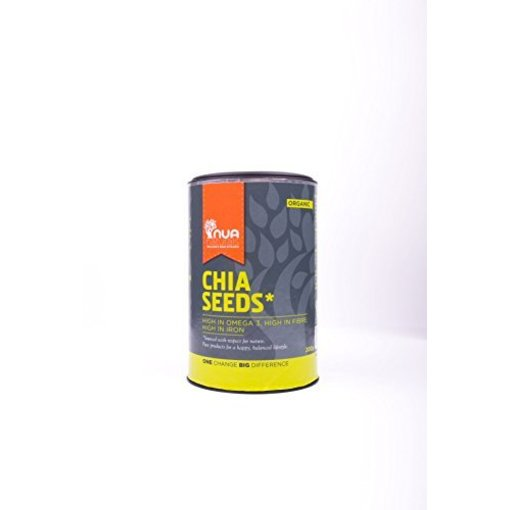 Nua Naturals Chia Seeds Org, 200g