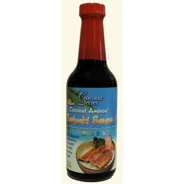 Coconut Secret - Coconut Aminos, Teriyaki Sauce, 296ml