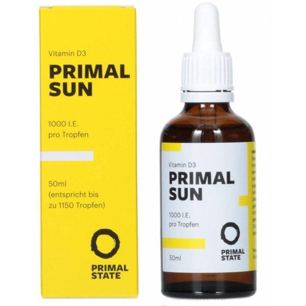 PRIMAL SUN - Vitamin D3 Tropfen (1.000 I.E.) (Primal State)