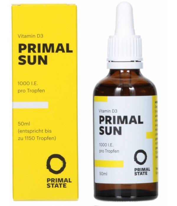 Primal State PRIMAL SUN - Vitamin D3 Tropfen (1.000 I.E.)