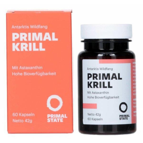 Primal State - KRILL Öl, 60 Kapseln á 500mg