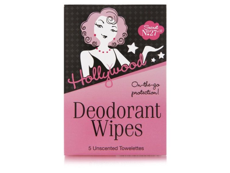 Hollywood Fashion Secrets Deodorant Wipes