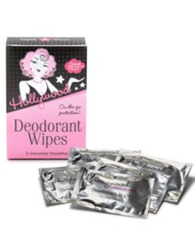 Hollywood Fashion Secrets Deodorant Wipes