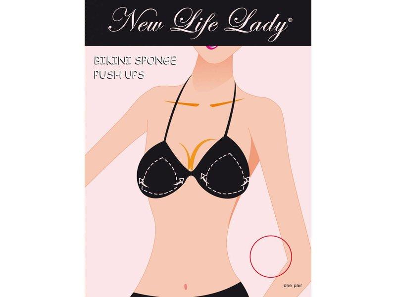 New Life Lady Push Up Bikini pads