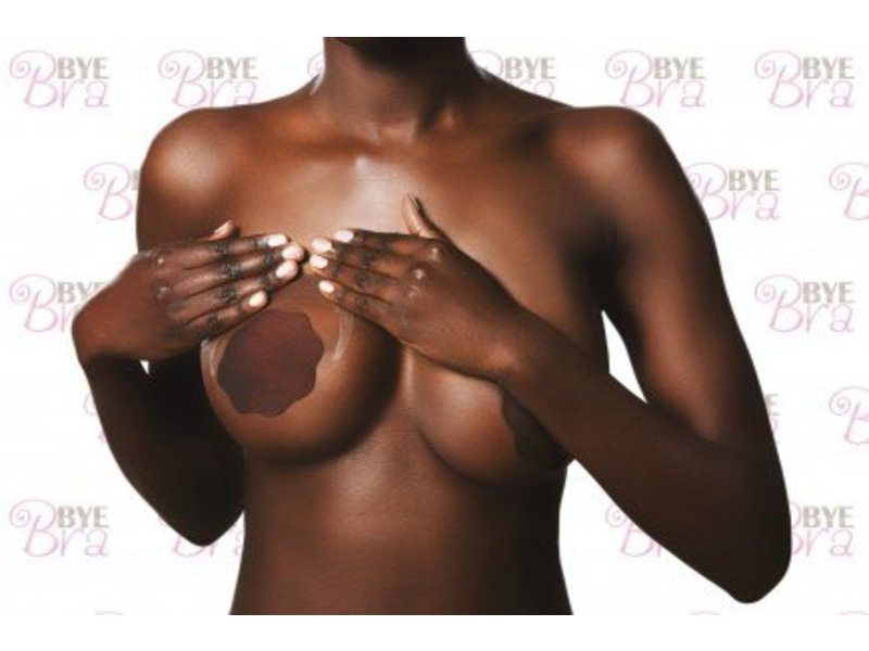 Bye Bra Dark Silicone Nipple Covers