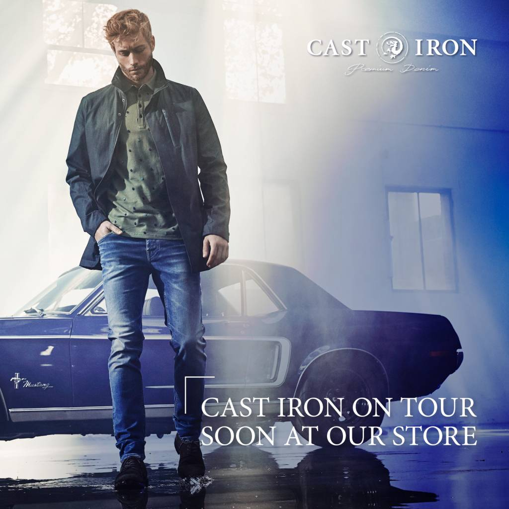 CAST IRON ON TOUR 12 MEI 2018