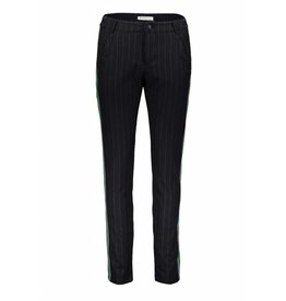 Summum 4s1616-10691 491 Summum Women Trousers viscose pin stripe Night blue