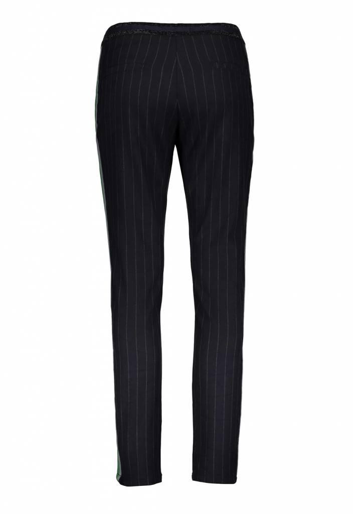 Summum 4s1616-10691 491 Summum Women Trousers viscose pin stripe Night blue