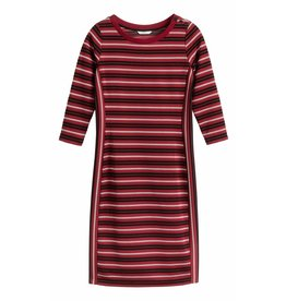 Sandwich 23001458 21027 Sandwich Jurk Jersey Medium Brick Red