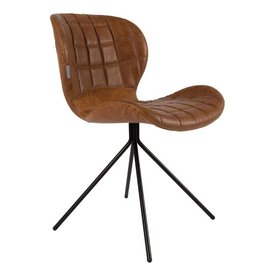 Zuiver Zuiver Chair OMG LL,Brown  Set 2 Stuks