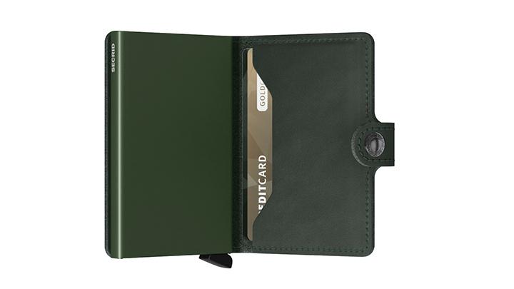 Secrid MO Secrid Miniwallet Original Green