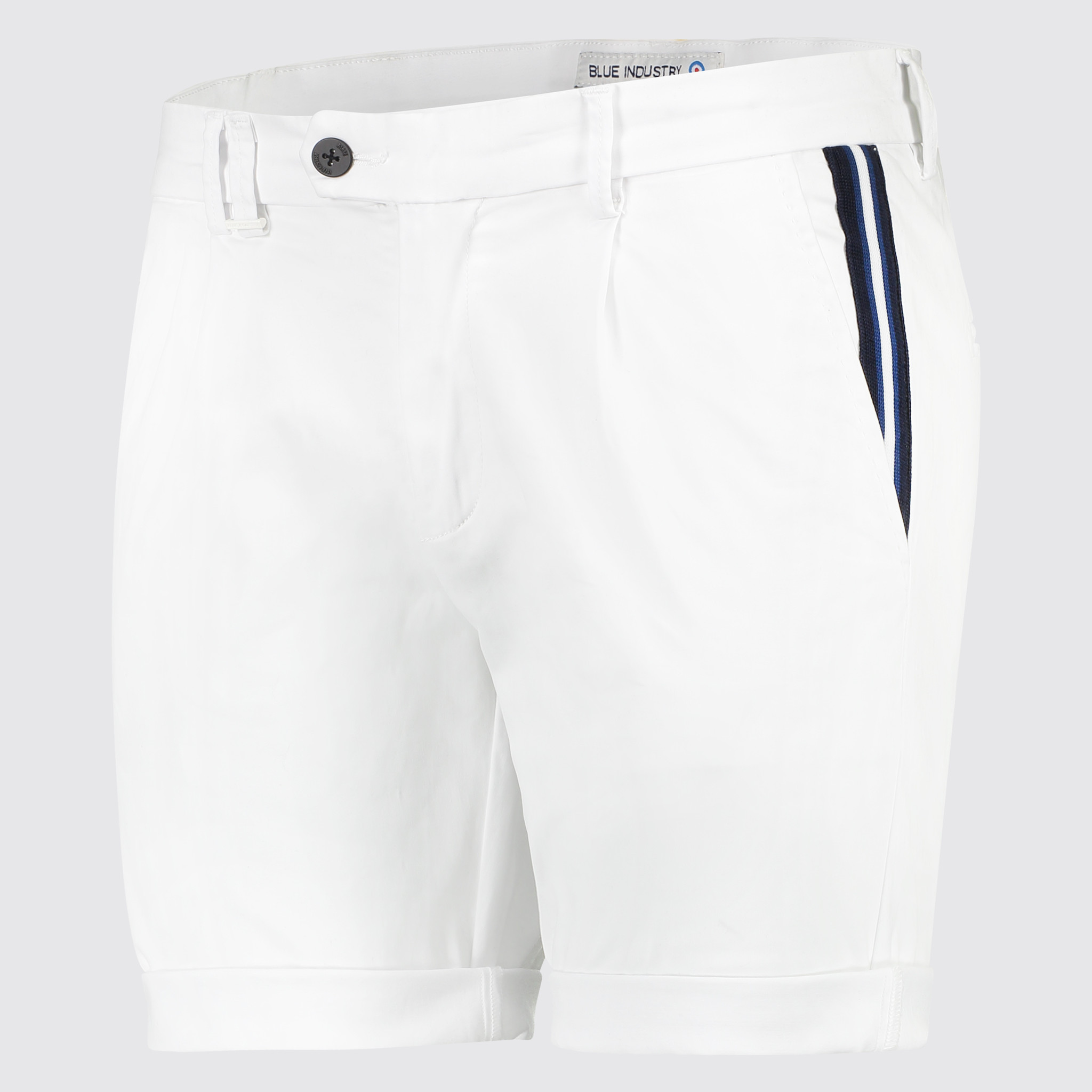 Blue Industry CBIS19-M83 Blue Industry Short white