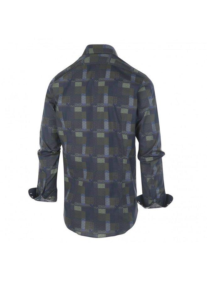 1284.92 Blue Industry Shirt green