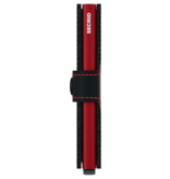 Secrid MM Secrid Miniwallet Matte Black & Red