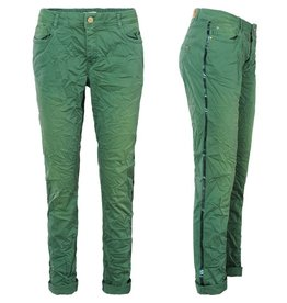 Summum 4s1792-10943 670 Summum Broek crispy twill stretch Forest green