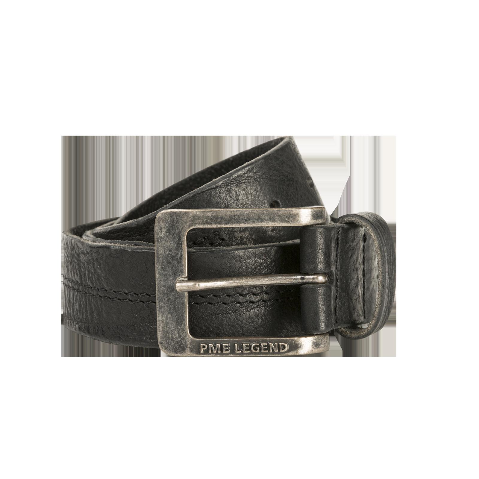PME Legend PBE00112 999 PME Legend belt leather center stich Black