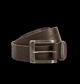 PME Legend PBE00112 771 PME Legend belt leather center stich D.Brown