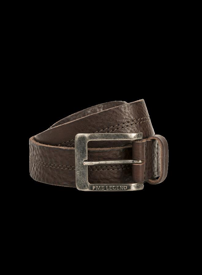 PBE00112 771 PME Legend belt leather center stich D.Brown
