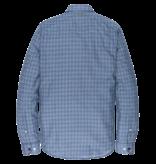 Vanguard VSI197401 5331 Vanguard long sleeve shirt check Navy Peony
