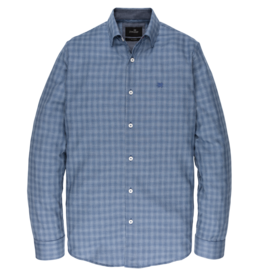 Vanguard VSI197401 5331 Vanguard long sleeve shirt check Navy Peony