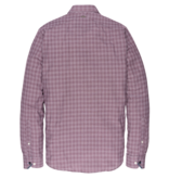 Vanguard VSI197401 3246 Vanguard long sleeve shirt check Pomegranate